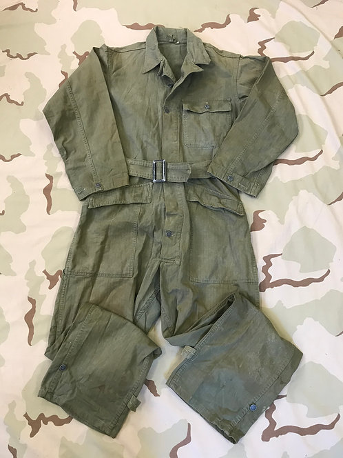 WW2 M-1943 HBT OD Coveralls