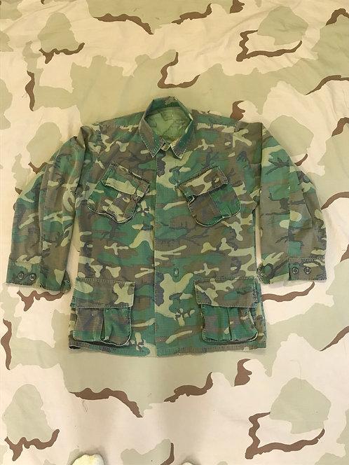 Vietnam ERDL Camo Jungle Fatigue Shirt