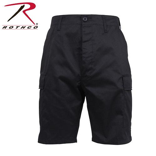 Rothco Black Tactical BDU Shorts