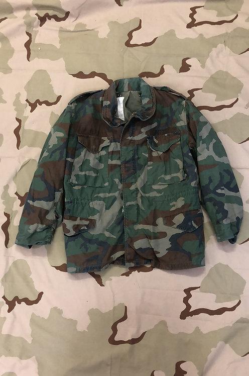 US Military M-65 Woodland Camo Field Jacket