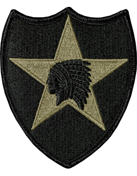 US Army OCP 2nd Infantry Division Patch