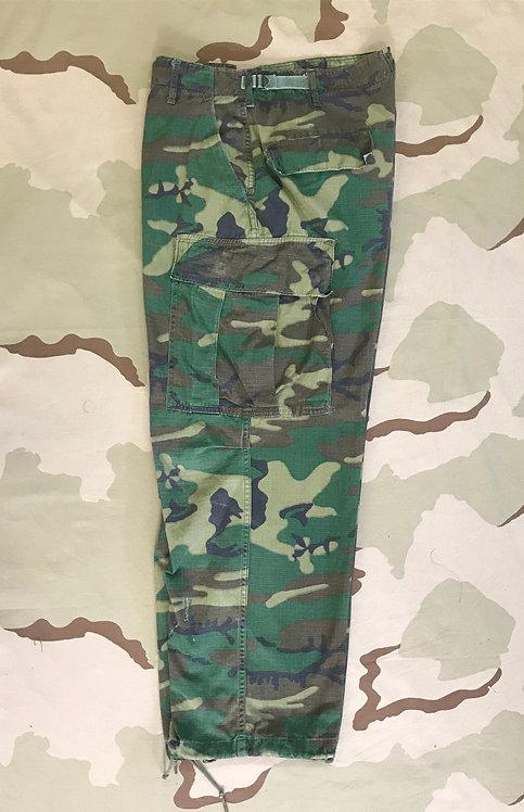Vietnam ERDL Camo Jungle Fatigue Combat Trousers