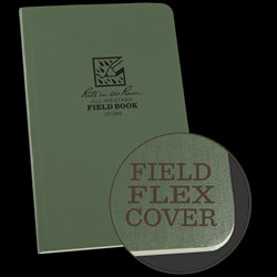 980 Rite in the Rain Waterproof Green Field Book Notebook