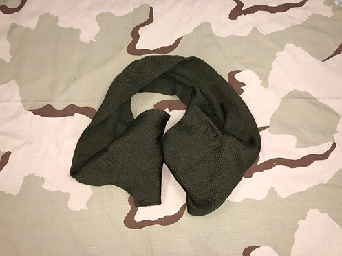 US Military OD Green Wool Scarf