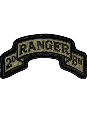 US Army OCP 75th Ranger 2nd Battalion Patch