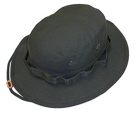 R&B Military Black Boonie Hat
