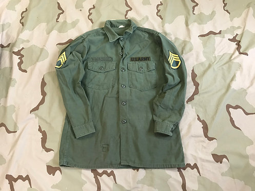 USGI Army OG-107 Vintage Fatigue Shirt