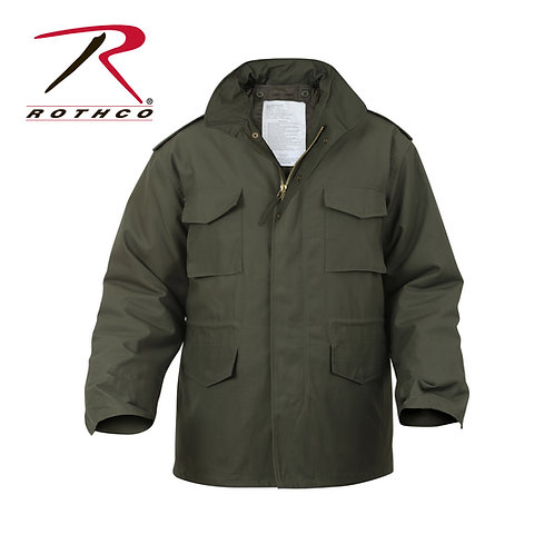 Rothco M-65 Field Jacket With Quilted Liner Olive Drab