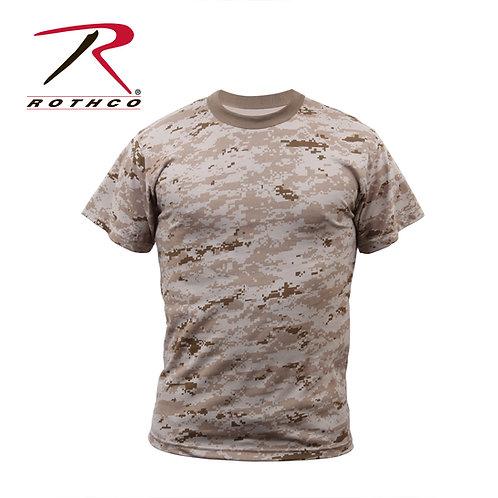 Rothco Desert Digital Camo T-Shirt
