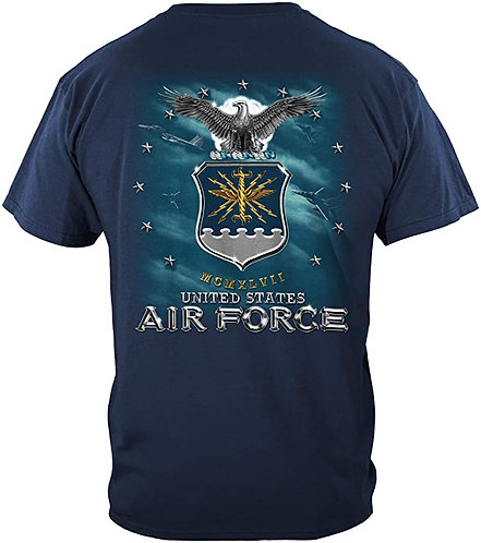 US Air Force Missile Military T-shirt
