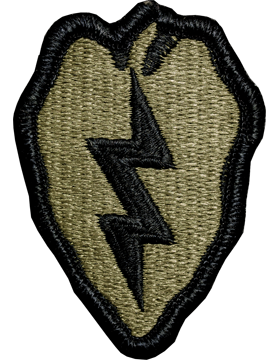 US Army OCP 25th Infantry Division Patch