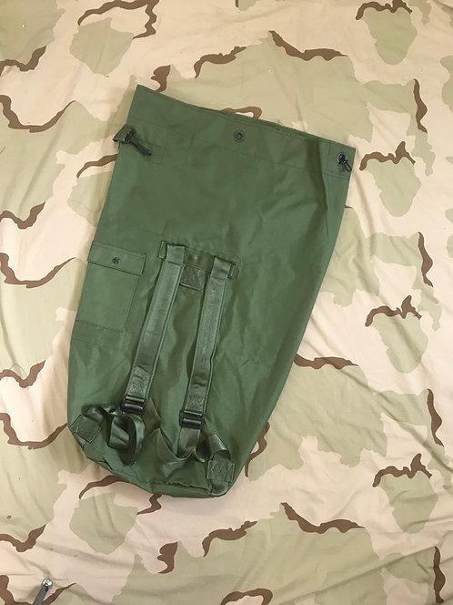 USGI Military OD Green Nylon 2 Strap Duffel Bag