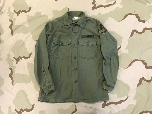 US Army OG-107 Cotton Sateen Utility Shirt