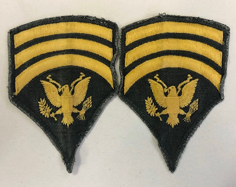"US Army Specialist ""Spec"" 7 E-7 Rank - Pair"