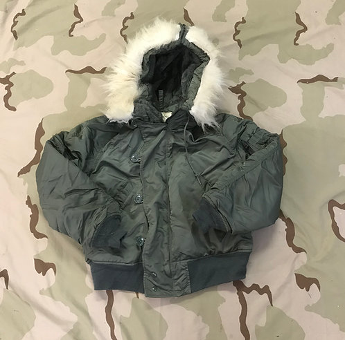 ECW Parka N-2B Pilot Flyer's Jacket Attached Hood