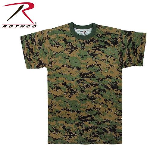 Rothco Woodland Digital CamoT-Shirt