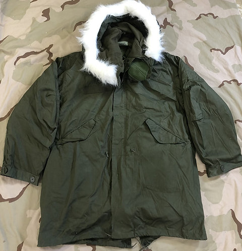 M-65 Extreme Cold Weather Fishtail Parka w/ Hood & Liner