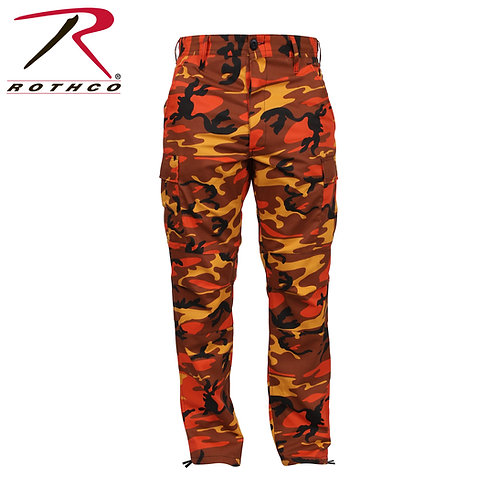 Rothco Savage Orange Camo BDU Pants
