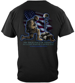"""Soldier's Cross """"High Price of Freedom"""" T-Shirt"""