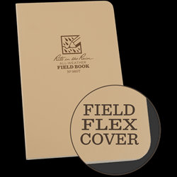 980T Rite in the Rain Waterproof Tan Field Book Notebook