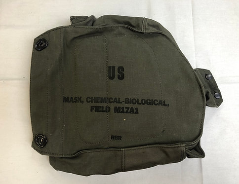 US Military Chemical Biological Field Mask Canvas Carrying Bag M17A1