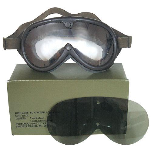 US Military Sun, Dust, & Wind Goggles