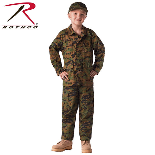Rothco Kid's Digital Camo BDU Pants