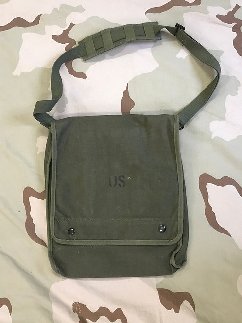 US GI Canvas Case Map and Photograph OD-7 NSN 8460-00-368-4281