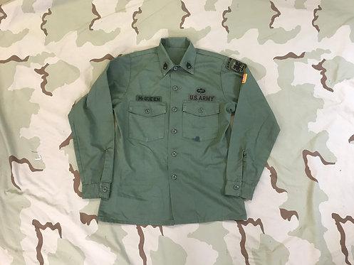 OG-507 Shirt Man's Utility Poly/Cotton Durable Press Named