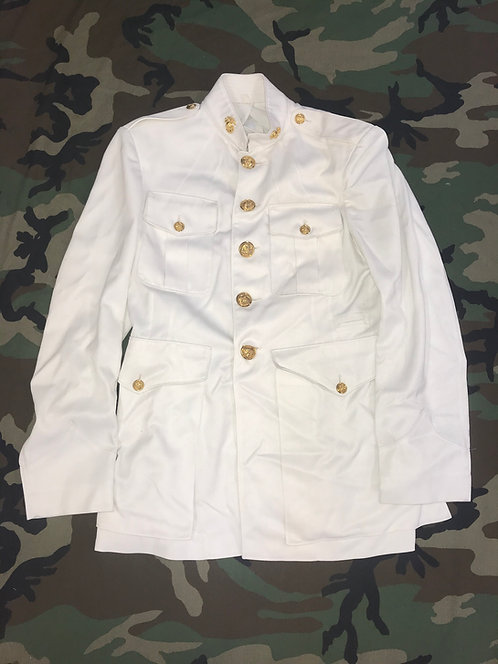 US Marine Corps Dress White Uniform Trousers and Tunic