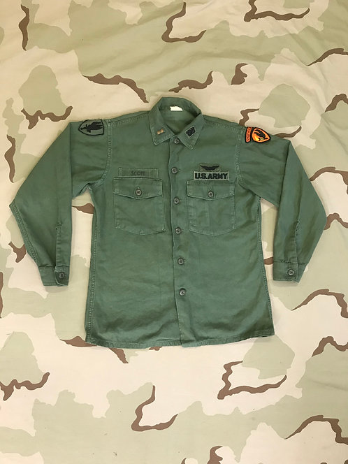 Vietnam OG-107 Cotton Fatigue Shirt