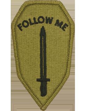 US Army OCP Infantry School Patch