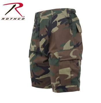 Rothco Woodland Camo BDU Shorts