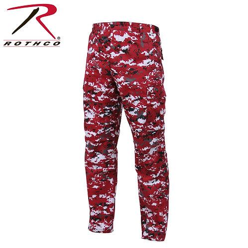 Rothco Red Digital Camo BDU Pants