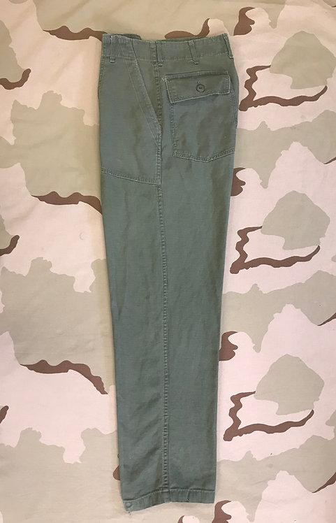 Vietnam OG-107 Cotton Fatigue Trousers