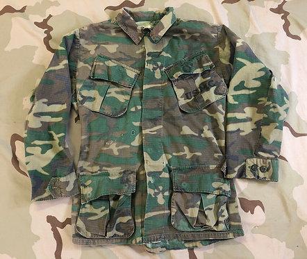 Vietnam USMC ERDL Camo Jungle Fatigue Shirt