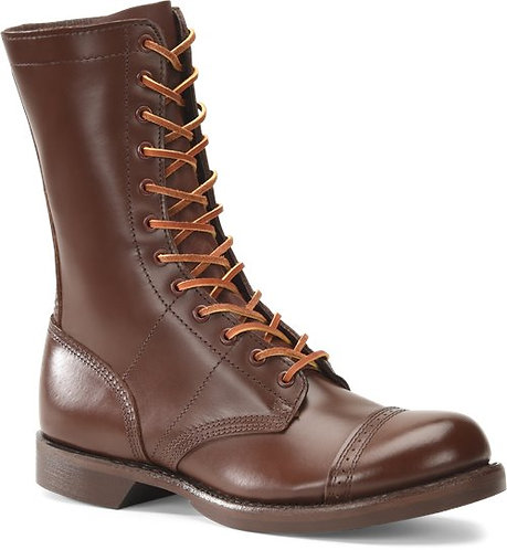 "Corcoran Mens 10"" Historic Brown Jump Boots 1510"