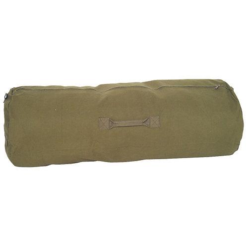 Military Style Canvas Zipper Duffel Bag