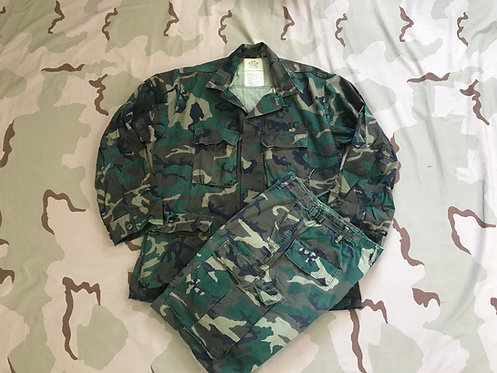 Vintage ERDL CAMO Gen2 BDU Coat & Trousers Set