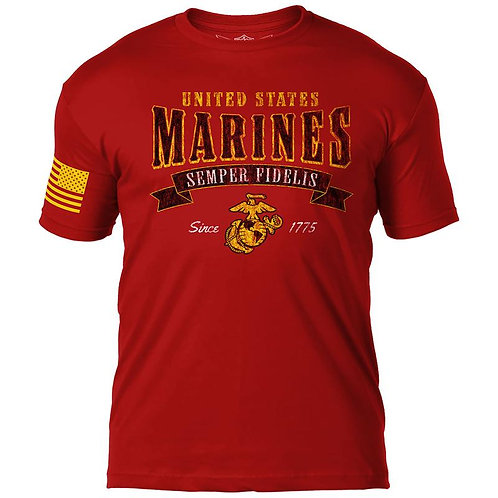 USMC 'Arched Semper Fi' 7.62 Design T-Shirt