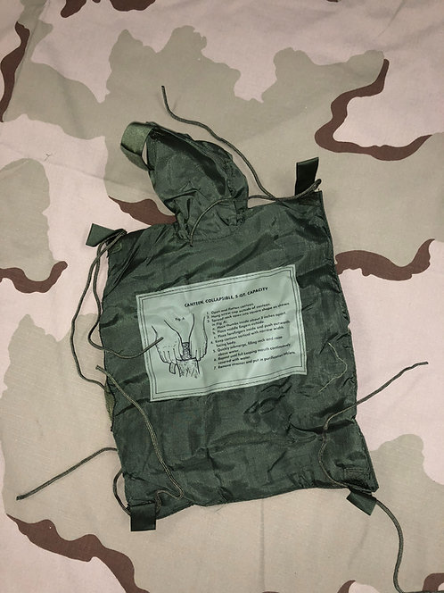 US Military 5 Quart Collapsible Canteen Carrier