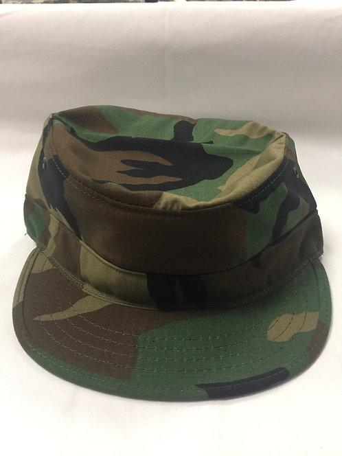 US Army Woodland Camo Patrol Cap