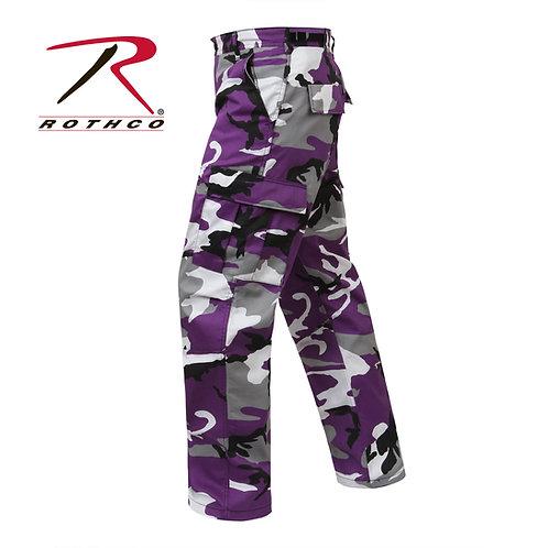 Rothco Ultra Violet Purple Camo BDU Pants