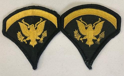 "US Army Specialist ""Spec"" 5 E-5 Rank - Pair"