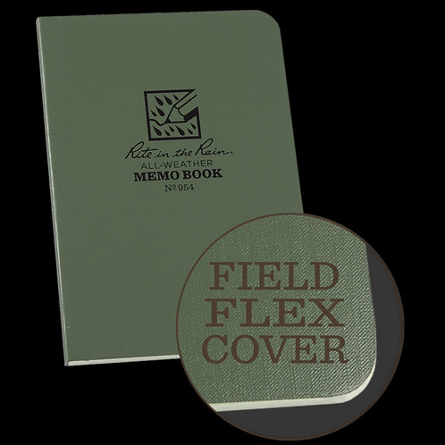 954 Rite in the Rain Waterproof Green Notebook