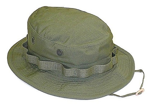 R&B Military Olive Green Boonie Hat