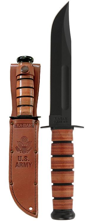 1220 US Army Ka-Bar Knife - Straight Edge
