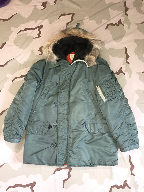 N3B Parka Flyer's Jacket w./ Fur Hood