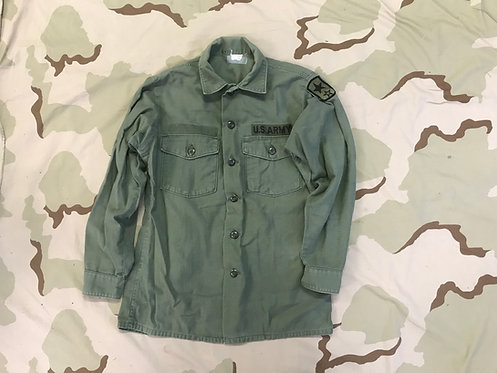 US Army OG-107 Cotton Fatigue Shirt Class 1