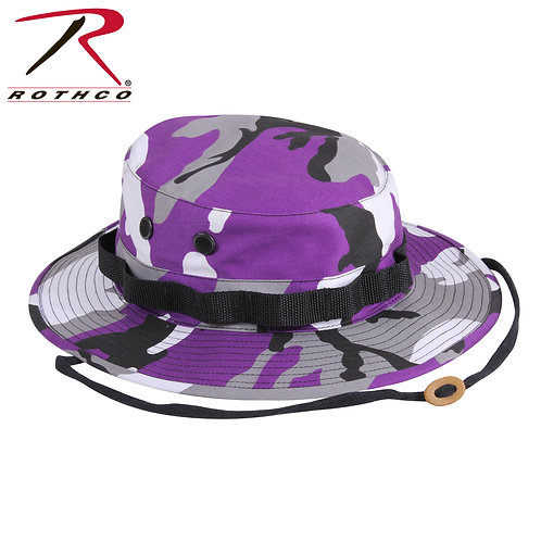 Rothco Ultra Violet Purple Camo Boonie Hat
